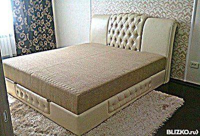 Кровать перетяжка своими руками