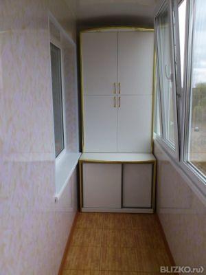 Шкаф для лоджии мдф белый в городе омск. цена товара от 3 50.