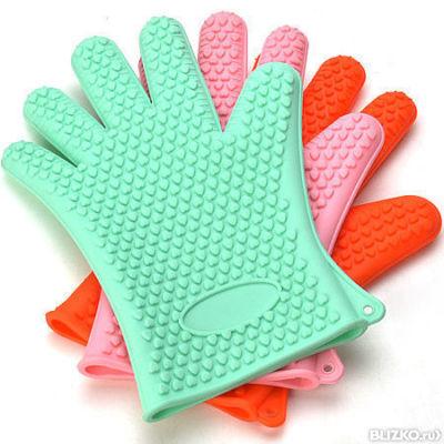 Силиконовая рукавица прихватка купить в спб