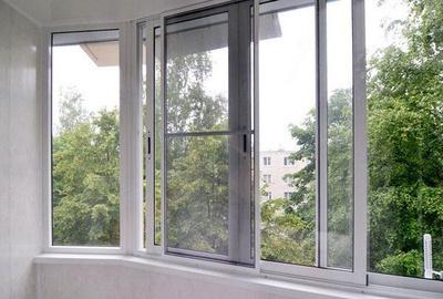 Раздвижные окна для лоджии 3x1.4 м под ключ festima.ru - мон.