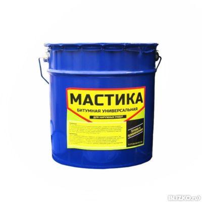 Битумная мастика 3 литра гидроизоляция полиакриловая кобус