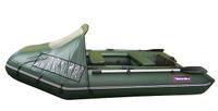 Лодка ПВХ надувная Хантер 290 ЛК Комфорт